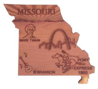 Missouri Shape Magnet